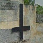 Cross of St. Peter (inverted cross) (StreetView)
