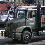 Mexican Army truck (StreetView)