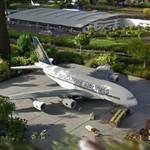 Legoland Billund: Airbus A380 (StreetView)