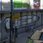 Giant pencil graffiti (StreetView)