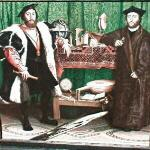 'The Ambassadors' by Hans Holbein the Younger (StreetView)
