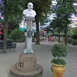 Statue of Niels Henrik Volkersen (StreetView)