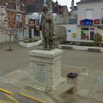 René Descartes statue (StreetView)