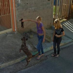 Please don't feed that puppy to your dog. (StreetView)