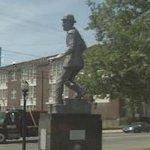 "Bill ""Bojangles"" Robinson statue by John Witt (StreetView)"
