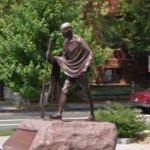 Mahatma Gandhi statue (StreetView)