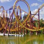 Goudurix Roller Coaster (StreetView)