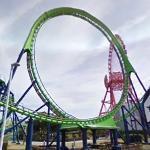 Venus GP Roller Coaster (StreetView)