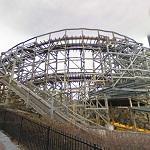 Elf Wooden Roller Coaster (StreetView)
