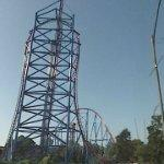 'Mr. Freeze' steel coaster (StreetView)