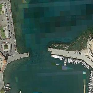 Site of The Colossus of Rhodes (Google Maps)