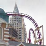 The Roller Coaster at New York-New York (StreetView)