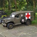 American military ambulance (StreetView)