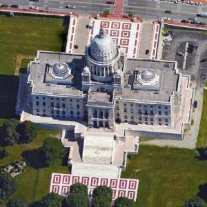 Rhode Island State House in Providence, RI - Virtual ...