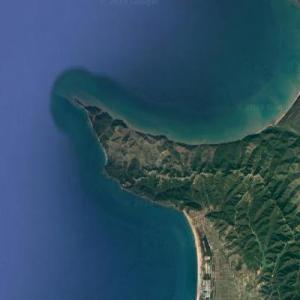 Kepi i Rodonit (Google Maps)