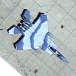 65th Aggressor Squadron (65 AGRS) McDonnell Douglas F-15C (Google Maps)
