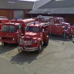 Classic Danish firefighter vehicles