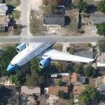 Boeing C-40B Special Mission Aircraft (partial) (Google Maps)
