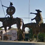 Sculpture of Don Quixote & Sancho Panza