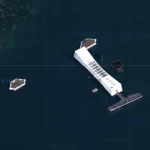 USS Arizona (BB-39) Memorial (Google Maps)