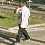 Man on a cellphone (StreetView)