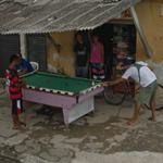 Men playing billiards (StreetView)