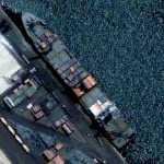 Freight Ship on Karachi Port Trust (Google Maps)
