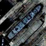 Ship for repair (Google Maps)