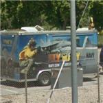 Fly Navy! - Navy recruiters (StreetView)