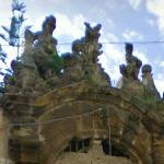 Grotesques on the Villa Palagonia (StreetView)