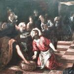 'Christ washing the Feet of the Disciples' by Jacopo Tintoretto (StreetView)