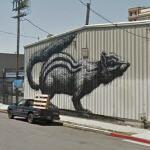 Graffiti by ROA (StreetView)