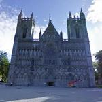 Gothic facade of the northernmost medieval church (StreetView)