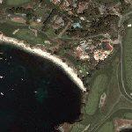 Pebble Beach Golf Course (Google Maps)