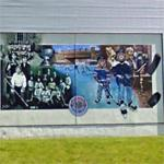 Kenora hockey mural