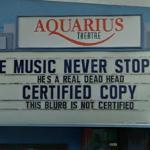 'The Music Never Stopped' at Aquarius Theater