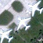 Il-76's at Melitopol (Google Maps)