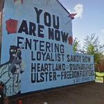 Loyalist Sandy Row Mural (StreetView)