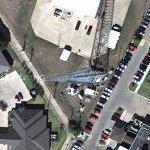 "WACO-FM (99.9 FM, ""WACO 100"") Transmitter tower (Google Maps)"