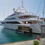 Superyacht SEANNA (StreetView)