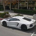 The newest Lamborghini Aventador (StreetView)