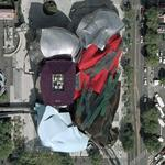 'Experience Music Project' by Frank Gehry. (Google Maps)