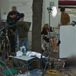 Preparing for an interview (StreetView)
