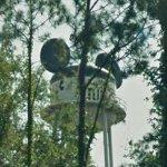Mickey Mouse hat water tower (StreetView)