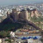 View of the Alcazaba of Almería