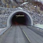 Munnarvoll Tunnel (StreetView)