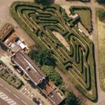 Hampton Court Maze (Google Maps)