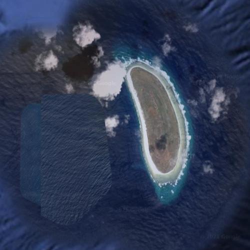 Howland Island (Amelia Earhart's Destination) (Google Maps)