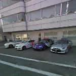 Nissan GT-R R35(x2) and Lexus IS-F (x2)- Super GT Series Safety Cars