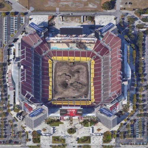 Raymond James Stadium In Tampa Fl Google Maps